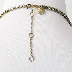 J. Crew Jewelry - J. Crew Bubble Necklace Neutral Sage Green